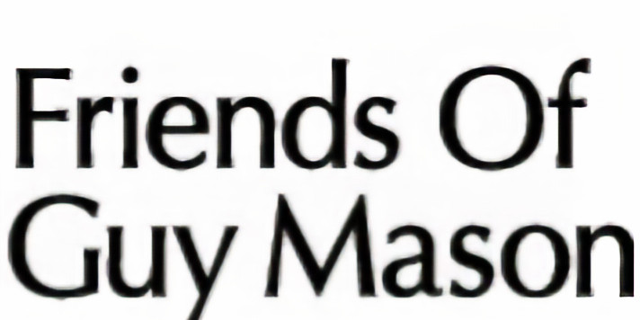 Friends of Guy Mason Party