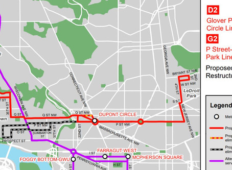 Glover Park D2 Bus Route Intact