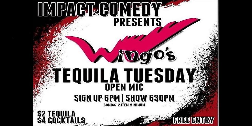 Comedy Open Mic at Wingo's