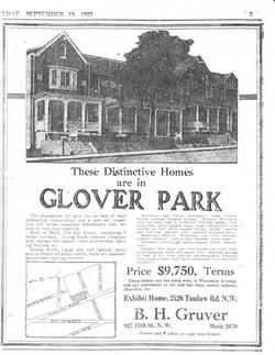 gloverParkhistory