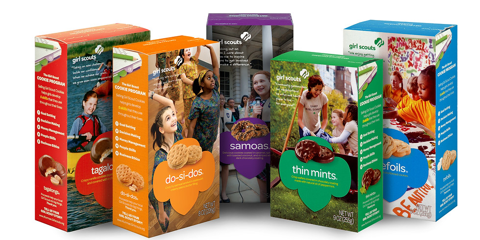 Girl Scout Cookie Sale at Stoddert