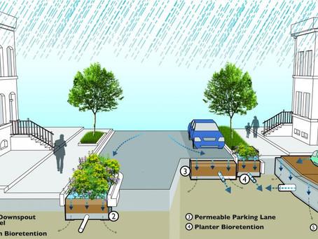 DC Water's Green Infrastructure Begins
