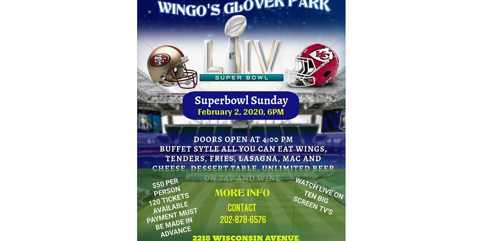 Superbowl Party at Wingo's