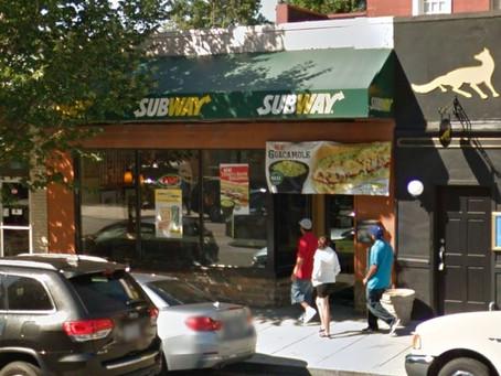 Subway Sandwich Shop to Close