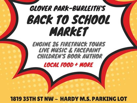 Come to the Farmers' Market Saturday!