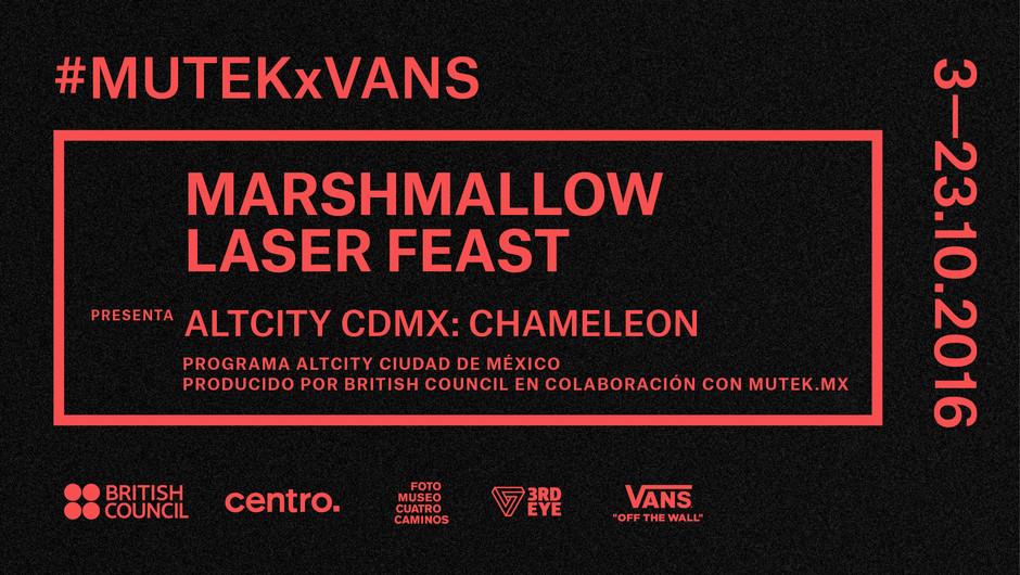 MUTEK 2016 - Colaboración con Marshmallow Laser Fest - ALT City - Chameleon