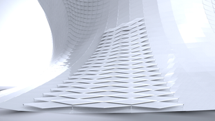 Modelado Paramétrico Museo Soumaya (Etapa Inicial)