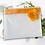 Thumbnail: Pochette cosmétique transparente publicitaire fleur