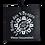 Etiquette à bagage personnalisé en pneu recyclé personnalisé| Lygo.fr