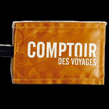 Cette étiquette personnalisée est idéale pour convenir à vos clients voyageurs écologique et équitable