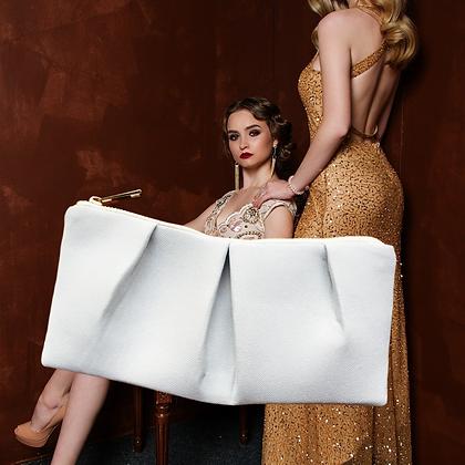 Trousse cosmétique publicitaire minimaliste soirée
