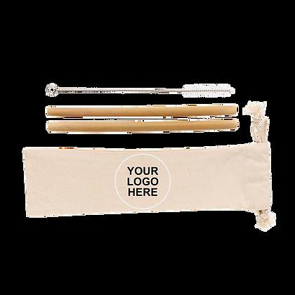 étui pailles bambou cadeaux publicitaire écologique