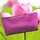 Pochette cosmétique personnalisable en coton WOODIN uni équitable
