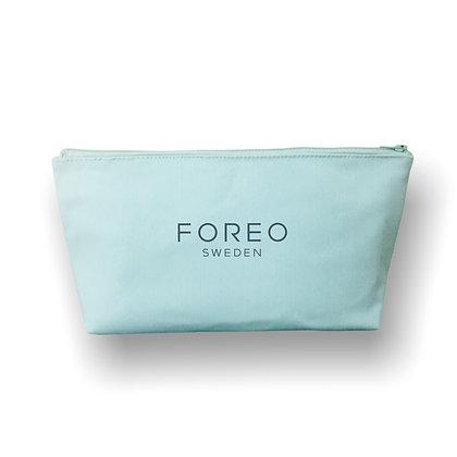 Trousse cosmétique personnalisable en sergé coton verte