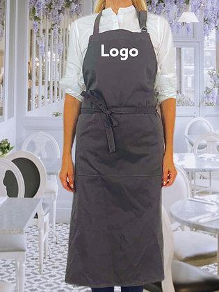 Tablier publicitaire personnalisable en coton fabrication équitable | Lygo.fr