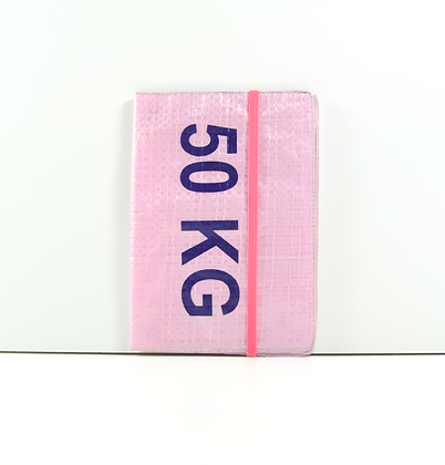 Porte passeport publicitaire en sac de recyclé