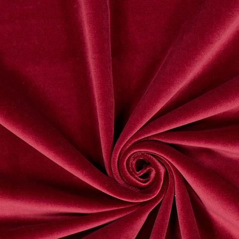 tissu-de-decoration-velours-de-coton-rou