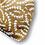 Thumbnail: pochette de maquillage personnalisable cœur marron