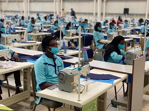 Unité de production textile responsable au Sénégal | Lygo fabricant de goodies écologiques et responsables personnalisables avec logo
