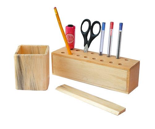Cadeaux publicitaires bureau en bois