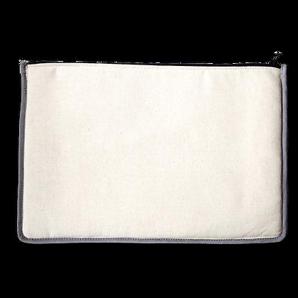 pochette de voyage publicitaire personnalisable en coton couleur personnalisable