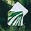 Lingette lavable publicitaire personnalisable forêt 🐿