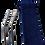 KIT écologique pailles inox étui en jean cadeau d'entreprise écologiques personnalisables | Lygo.fr