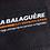 Porte étiquette bagage publicitaire  recyclée en bâche avec marquage personnalisé en étiquette tissée  | Lygo.fr