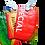 Etiquette à bagage personnalisable écologique fabriqué sac de riz recyclé fabrication équitable en Afrique | Lygo.fr