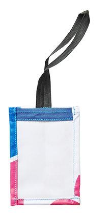 Etiquette bagage écologique recyclée à partir de bâches | Lygo.fr