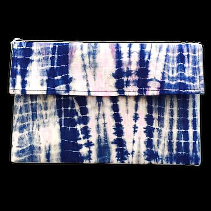Pochette de voyage publicitaire en voile mauritanien artisanal bleu   Lygo.fr