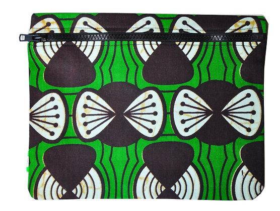 Pochette voyage tissu africain