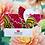 Lingette lavable personnalisable sur mesure Lotus