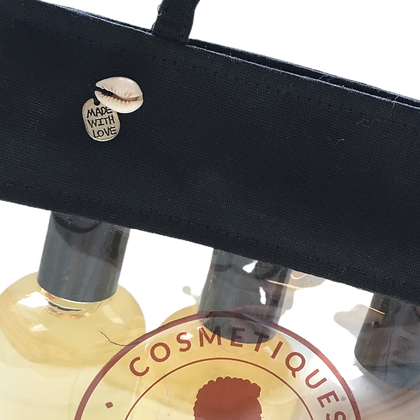 Pochette cosmétique transparente pour linéaire