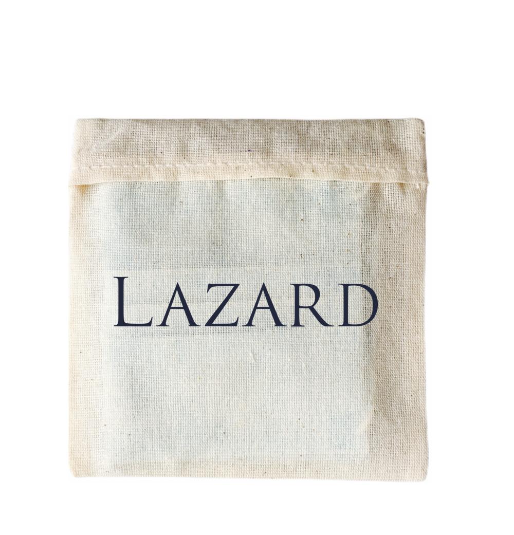 Pochette de masque en coton personnalisée pour Lazard