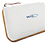 Pochette de voyage en coton avec fermeture éclair personnalisable tour couleur personnalisable