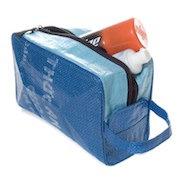 Trousse de toilette publicitaire en sacs de riz recyclés