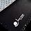 Pochette de voyage de Luxe en coton et lin naturel avec logo