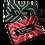 Etiquette de voyage en coton aux motifs ethniques fabriquée équitablement | Lygo.fr