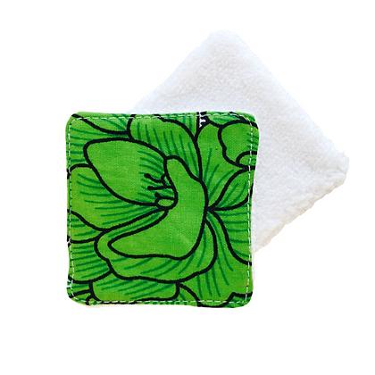 Lingette lavable publicitaire personnalisable couleur au choix