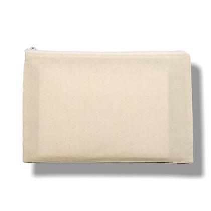 POCHETTE DE VOYAGE : en coton avec fermeture éclair odyssée