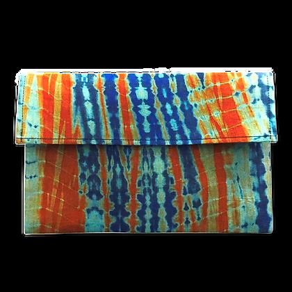 Pochette de voyage publicitaire en coton en voile mauritanien artisanal multicouleur   Lygo.fr