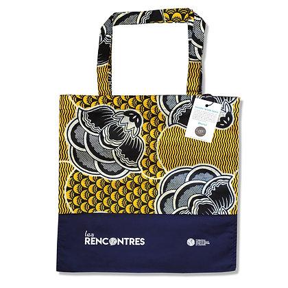 Tote bag publicitaire personnalisé avec votre logo en Wax et COTON | by Lygo.fr