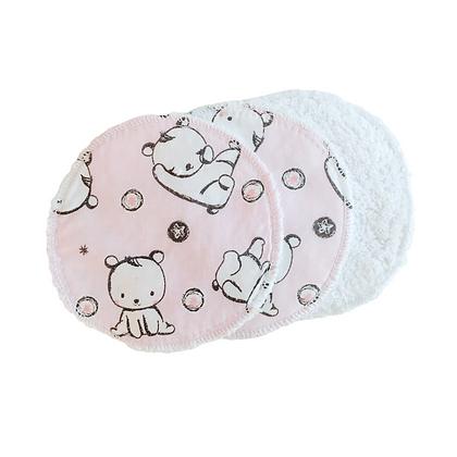Lingette lavable enfant personnalisable standard coton fantaisie