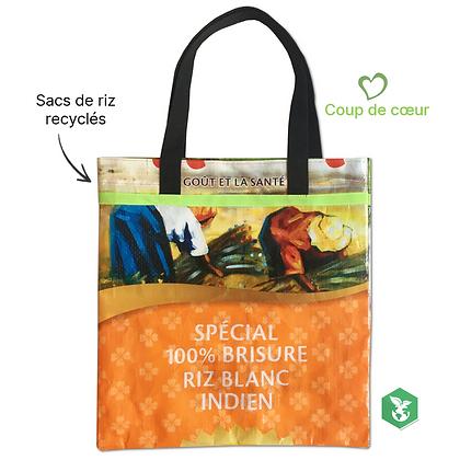 Tote bag publicitaire écologique et recyclé en sac de riz : un choix durable | Lygo