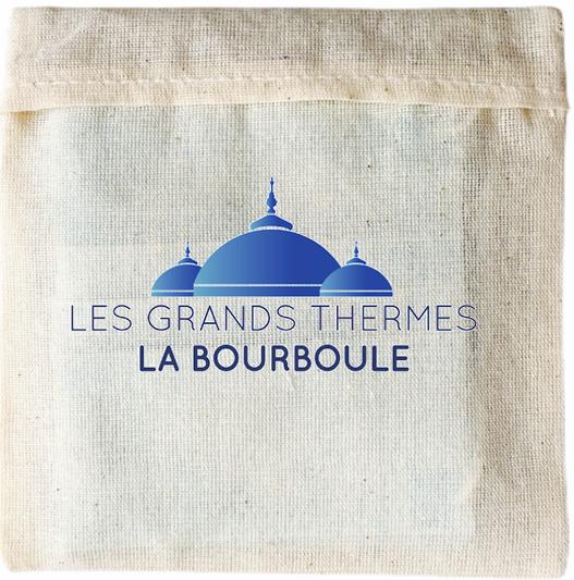 pochette de masque personnalisable Grands thermes laBourboule
