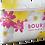 Trousse de toilette publicitaire avec tissu personnalisable logo compris