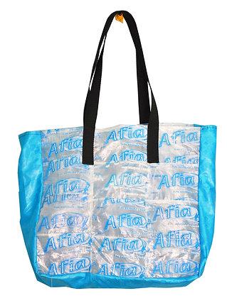 sacs en sachets d'eau recyclé