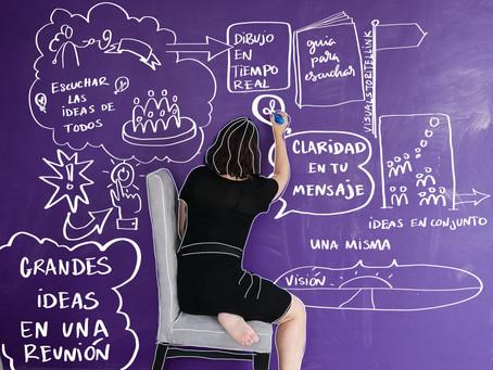 ¿Grabación gráfica? Haz visibles tus ideas en tiempo real