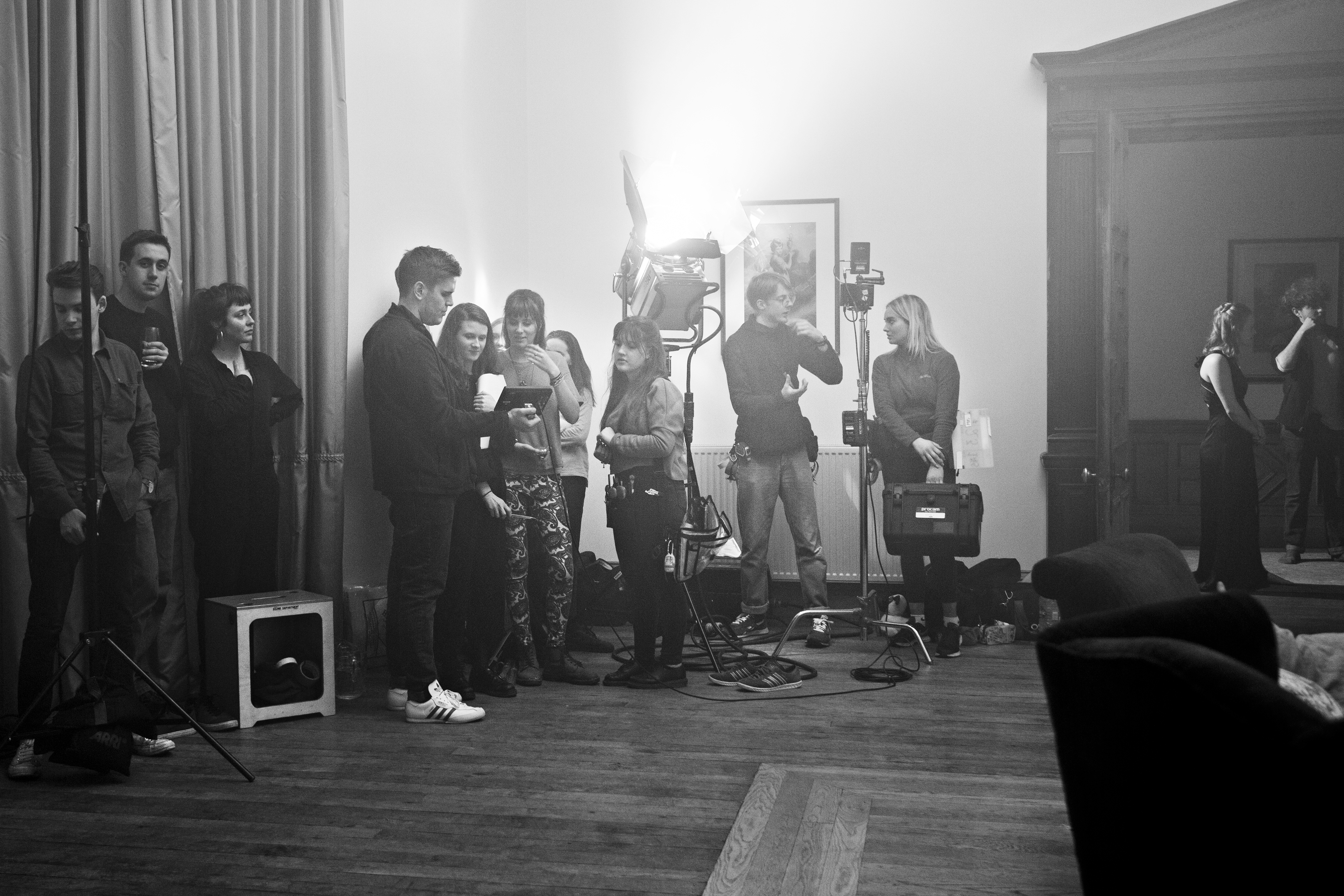 Poppycock Filming